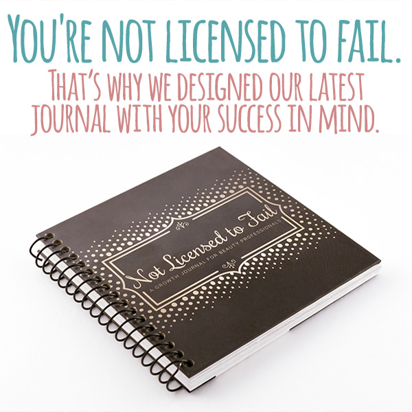 You're Not Licensed To Fail: That's Why We Designed Our Latest Journal With Your Success in Mind.