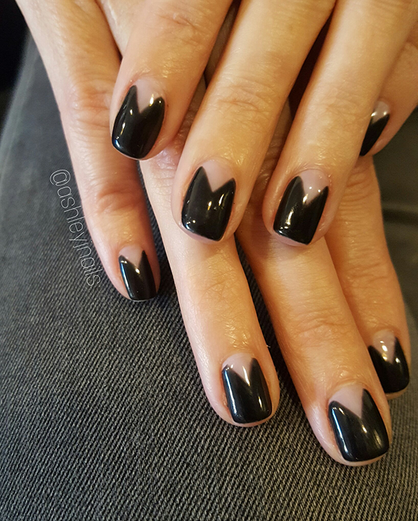 The Negative Space Nail Trend - MiladyPro